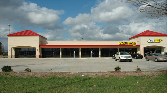 Stonewall Constructors has significant retail center and restaurant construction expertise.